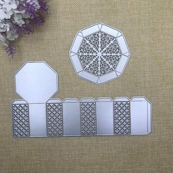 Christmas Mitten Metal Cutting Dies Stencil Scrapbook Embossing Album Card Craft