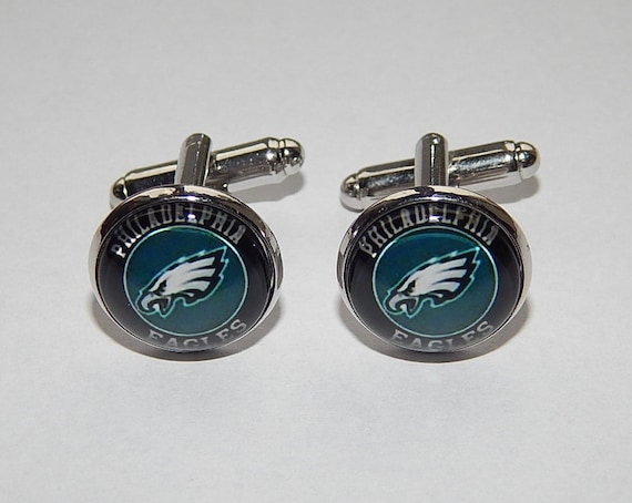 Philadelphia Eagles football cufflinks Philadelphia Eagles  ae364f5ba52