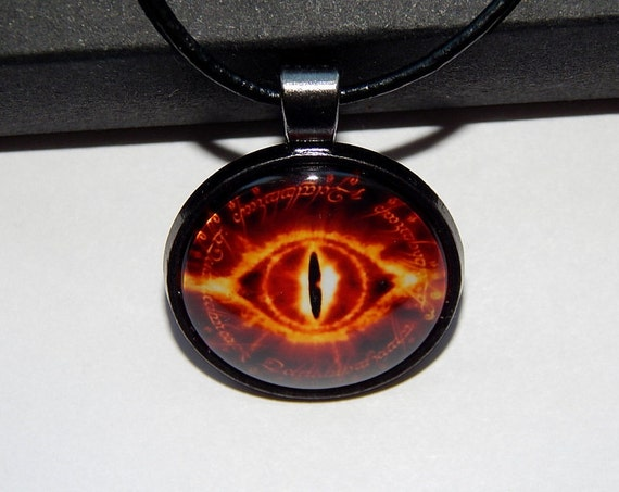 Eye Of Sauron Necklace Pendant Eye Of Sauron Symbol Lord Of Etsy