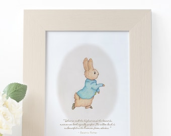 Little Peter Rabbit | 5x7 Art Print