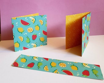 Fruits Bookmark/Cards