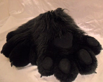 Custom Furry Puffy Paws - 4 Fingers, Mega Puffy