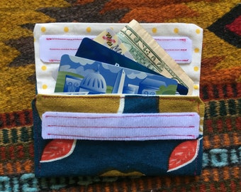 Cloth wallet / change purse / business card holder