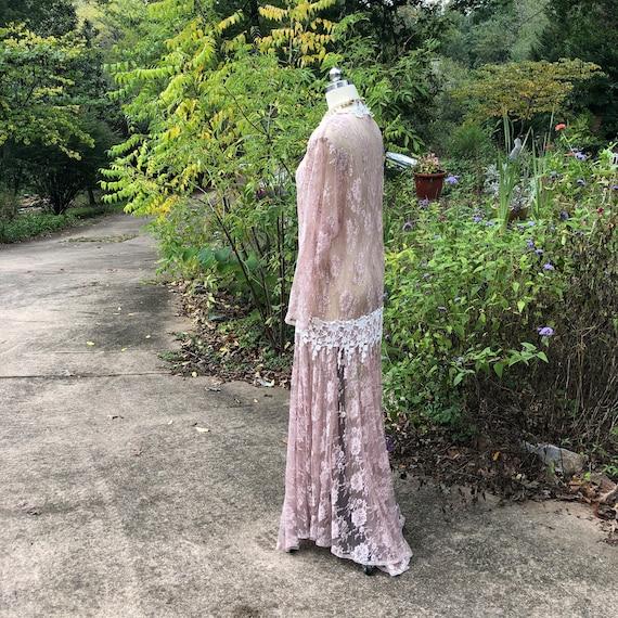 JESSICA MCCLINTOCK Pink Lace Dress/Jessica Mcclin… - image 3