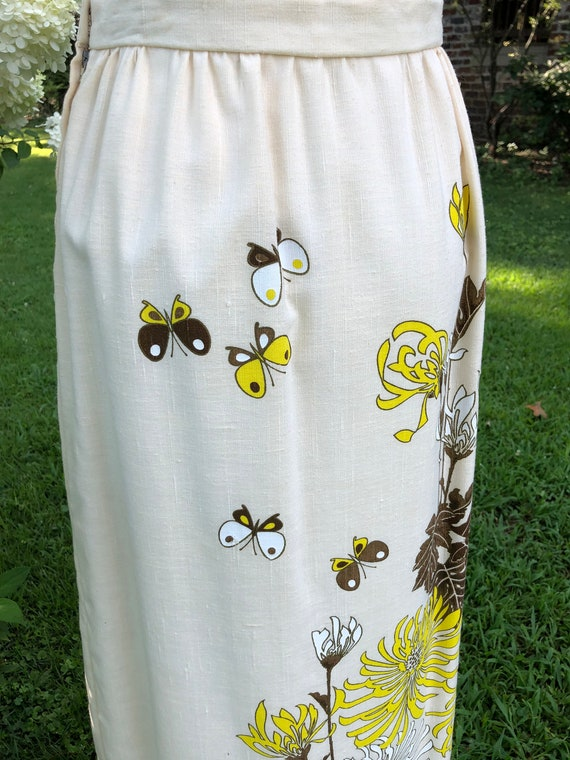 SHAHEEN Skirt/Shaheen Clothing/70's Skirts/70's C… - image 8