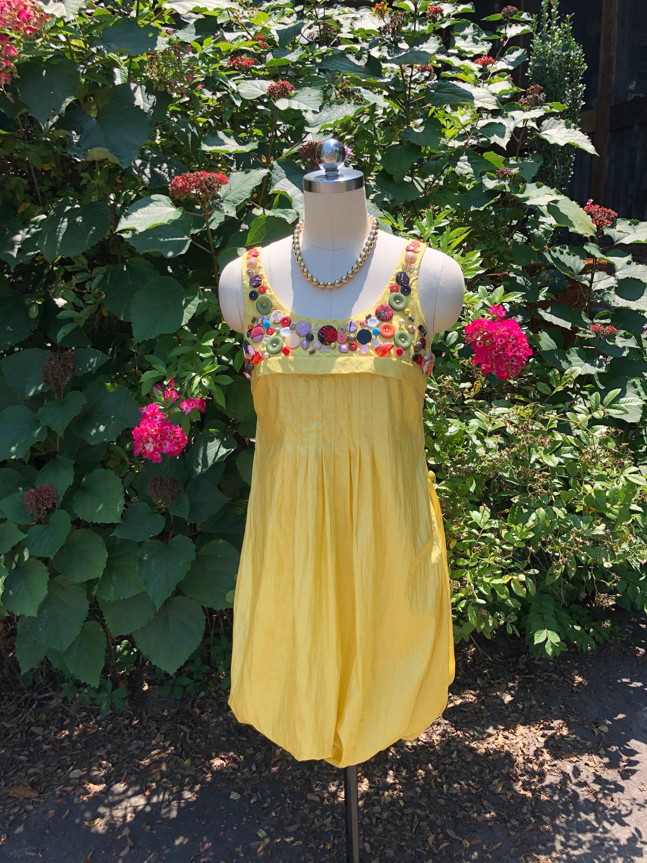 80s Dresses | Casual to Party Dresses Gorgeous 80s Sue Wong Bubble Dress80s Button DressVintage Yellow Sue WongNear Mint Condition $105.00 AT vintagedancer.com