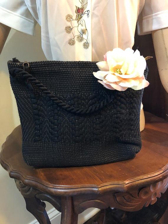 Rockabilly Purses/Rockabilly Bags/40's Corde Purse