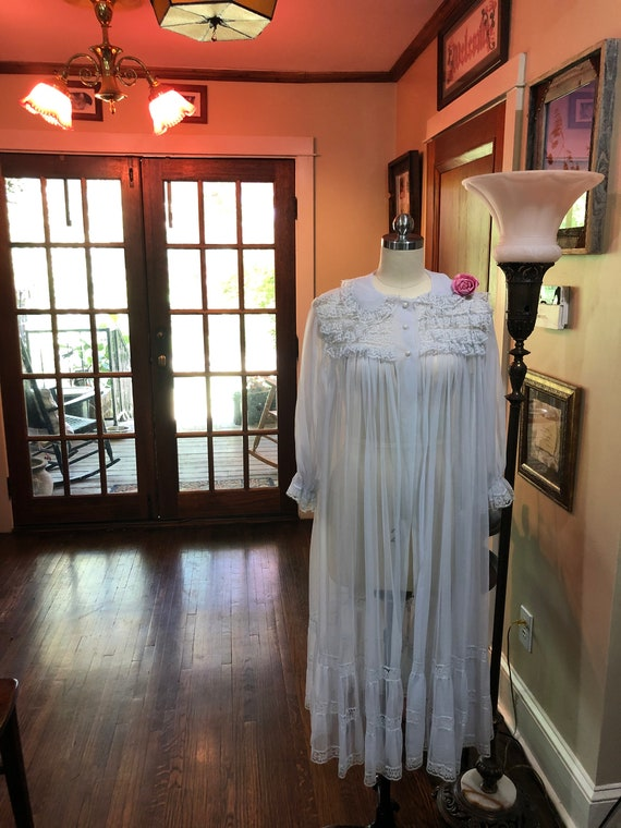 Radcliffe Nightgown Robes/Radcliffe/Sheer Nightgow