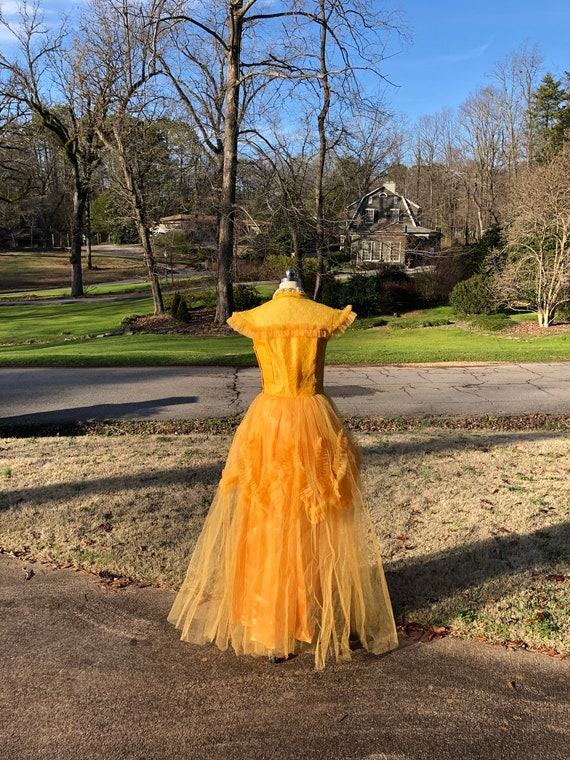 50's PROM GOWNS/50's Prom Dress/50's Tulle Prom/T… - image 4