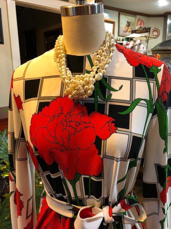 FLORAL CARNATION Dress/Mod Dresses/A-Line Dresses/