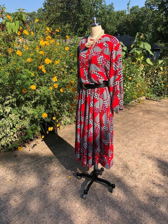 DIANE FREIS Two Piece Dresses/Diane Freis/80's Di… - image 5
