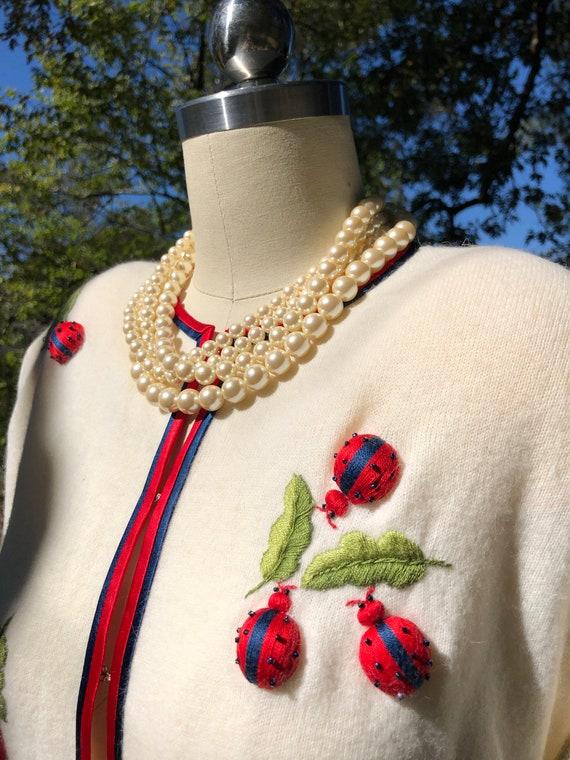 RARE 50's CARDIGANS/Vintage Pinup Cardigans/Neiman