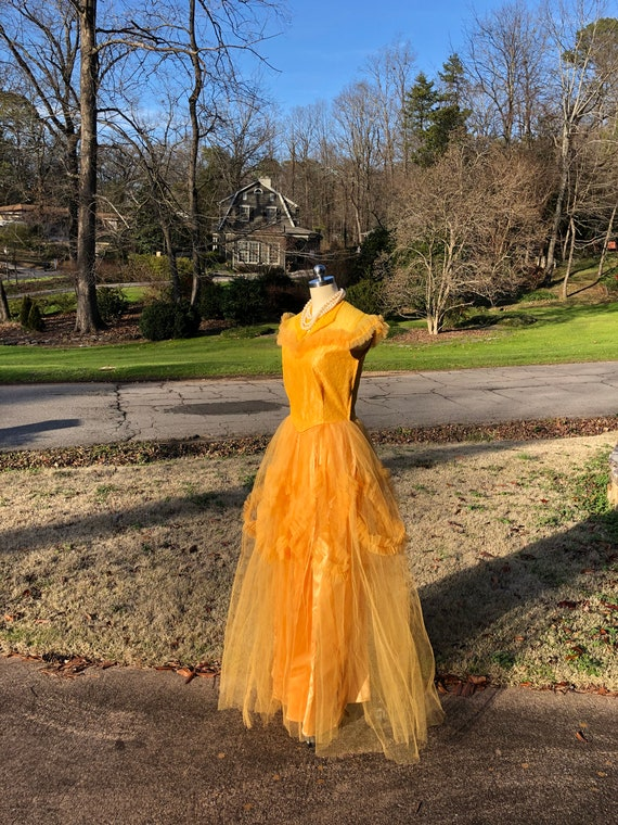 50's PROM GOWNS/50's Prom Dress/50's Tulle Prom/T… - image 10