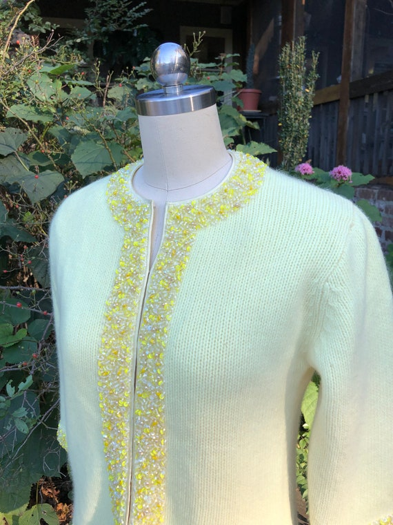 RARE 50's CARDIGANS/Vintage Pinup Cardigans/Beaded
