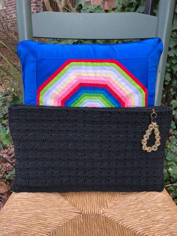 Crochet Corde Purses/40's Clutches/40's Handbags/4
