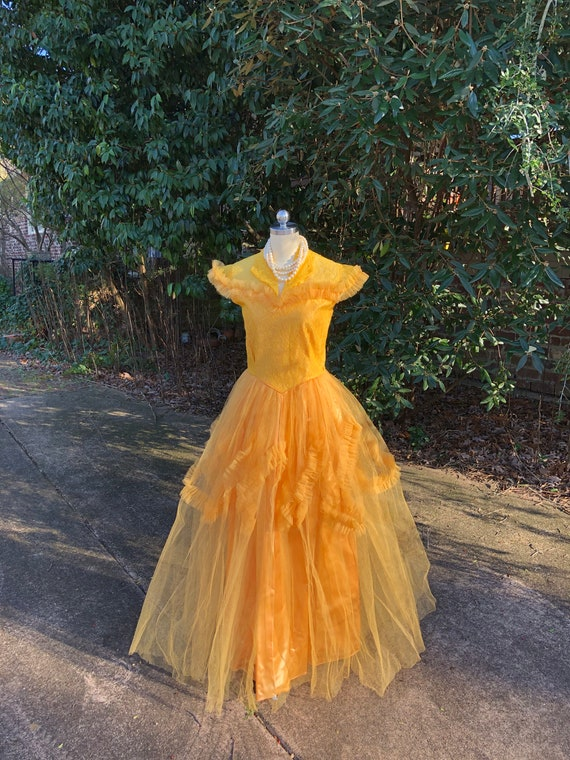 50's PROM GOWNS/50's Prom Dress/50's Tulle Prom/T… - image 7