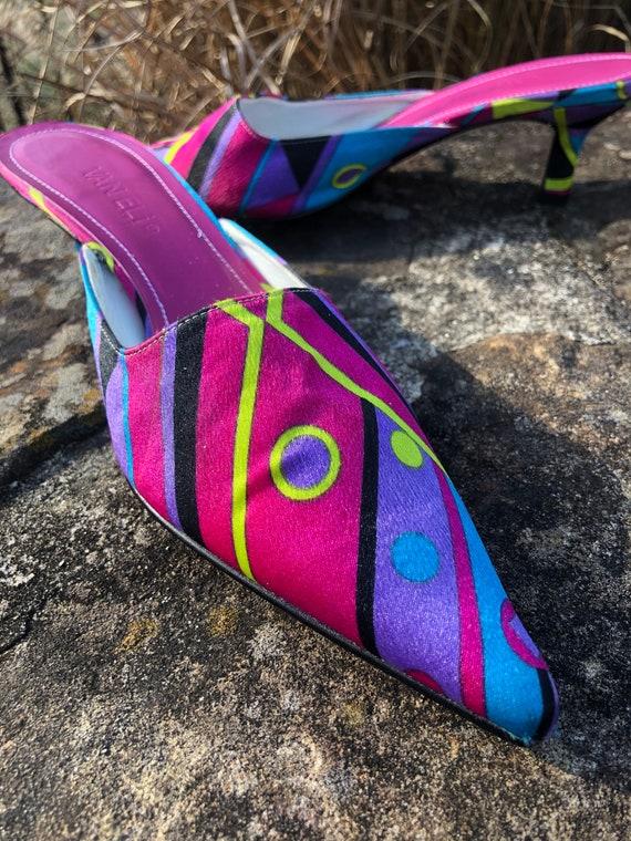 PUCCI Style Van Eli MULES/Pucci/80's Van Eli Shoes