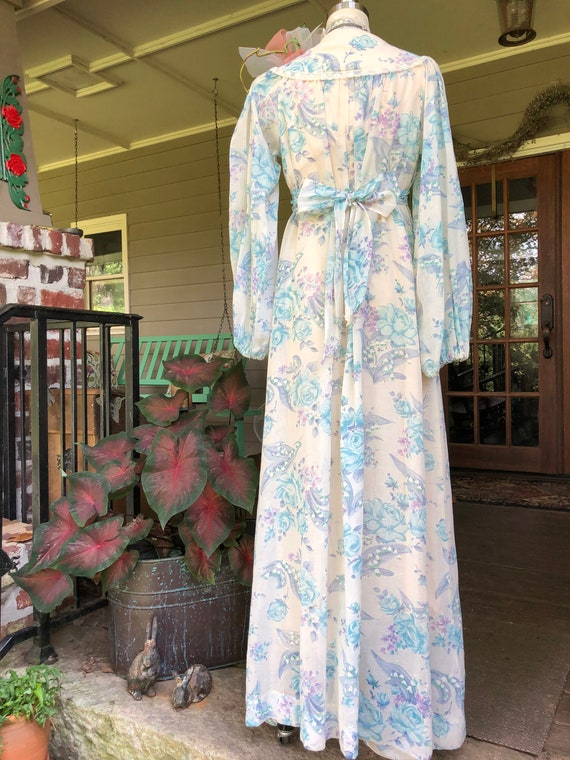 GUNNE SAX Style Dress/Gunne Sax Style Long Dresse… - image 3