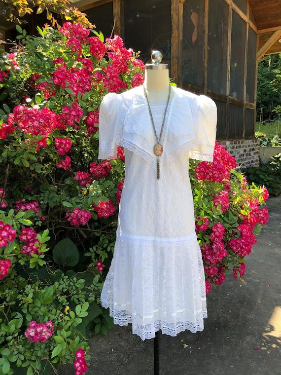 Gunne Sax Dresses/Cottagecore Dresses/Gunne Sax/Wh