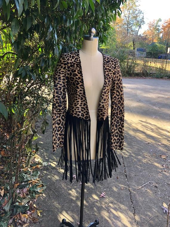 Leopard Jackets/Fringe Jackets/Perfext Jackets/Lea