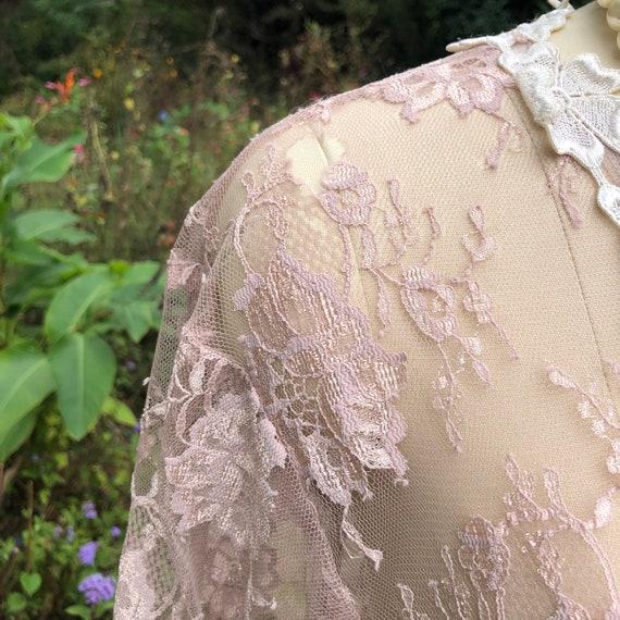 JESSICA MCCLINTOCK Pink Lace Dress/Jessica Mcclin… - image 8