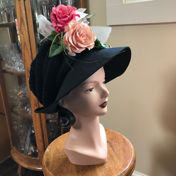 Lovely Suzanne Custom Millinery/Vintage Designer H