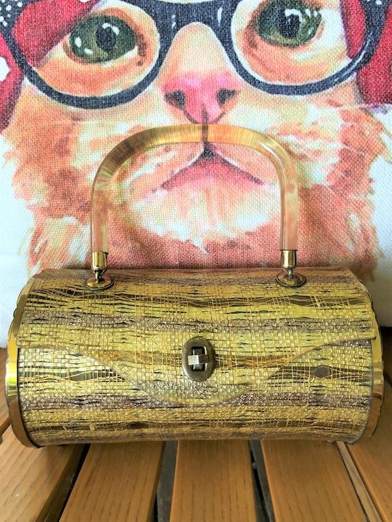 MAJESTIC Lucite Handbags/Lucite Handbags/Lucite Pu