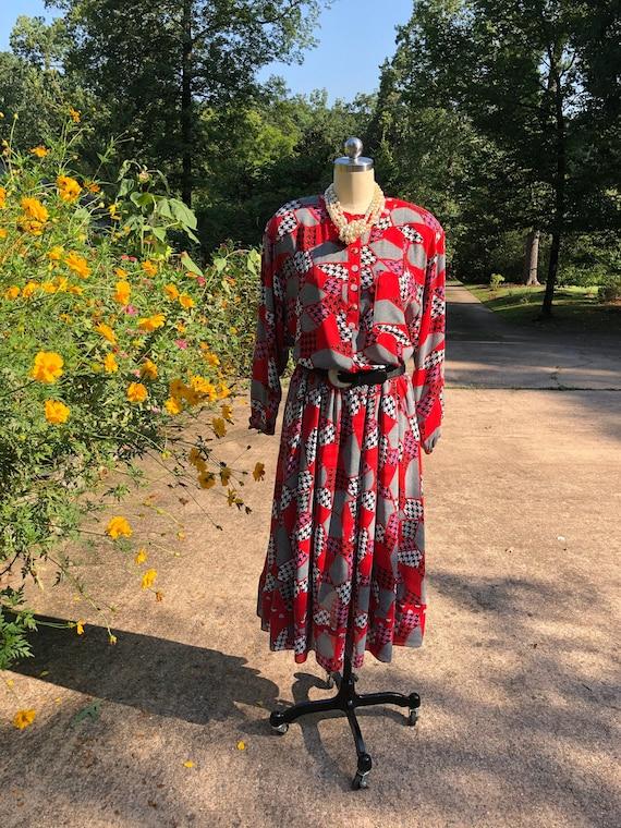 DIANE FREIS Two Piece Dresses/Diane Freis/80's Dia
