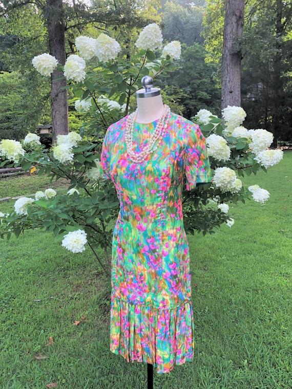 MARJORIE MONTGOMERY Dress/60's Vintage Dresses/Sil