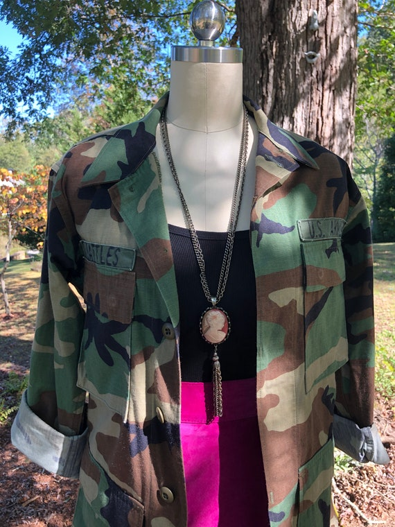 ARMY FATIGUE Jacket/Womens Fatigue Jackets/Army Ja