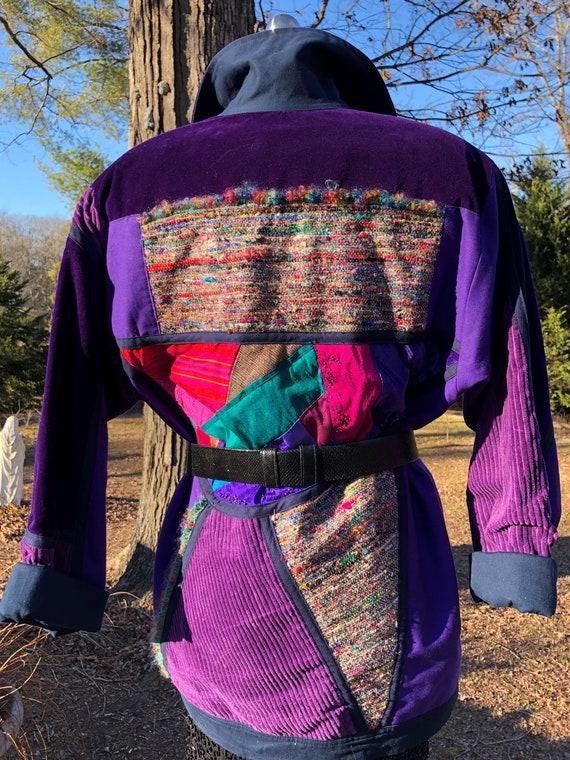 BOHEMIAN VIBE Jacket/Solveig Cape Town/Handmade Ja
