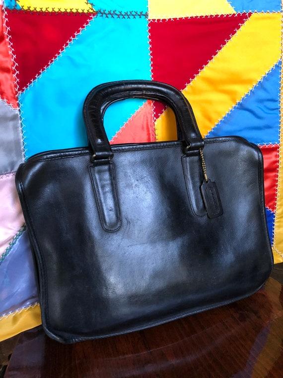 Vintage Coach Handbag/Coach/Coach Small Attaches/6