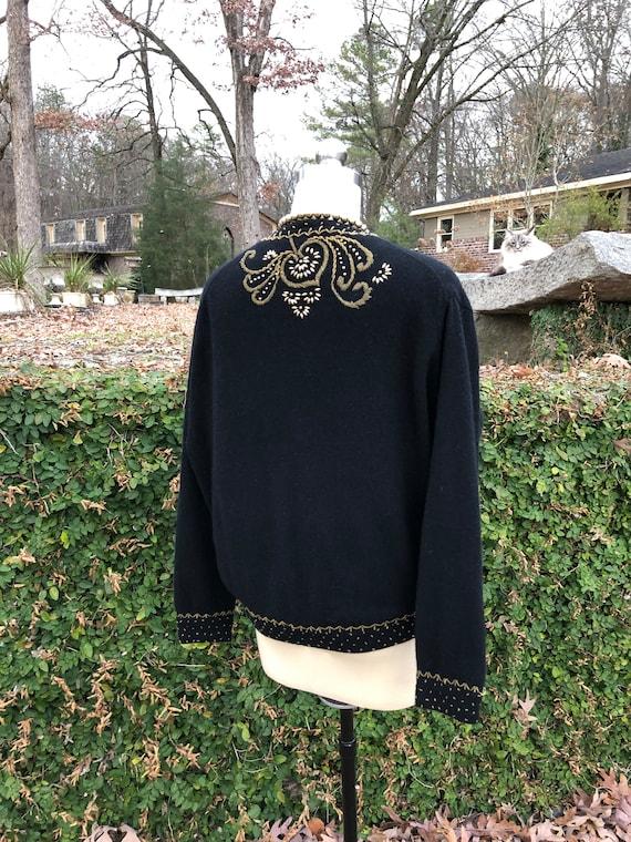 50's Vintage Sweater/50's Vintage Cardigan/50's S… - image 3