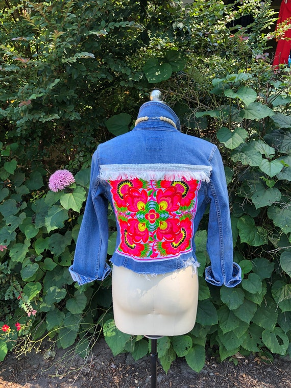 UPCYCLED DENIM Jackets/Upcycled Jackets/Recycled D