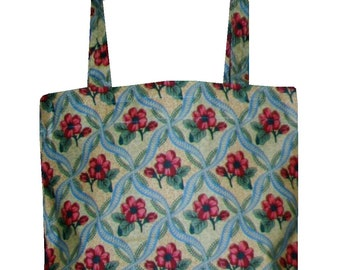 Monkwell Unlined Cotton Tote with pocket