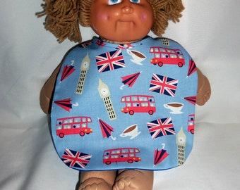 Very British Baby Bespoke adjustable  Baby Bibs