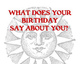 Astrology Tarot Numerology Personalized Birthday Report