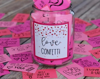 Love Confetti - Spread Valentine's Day Kindness and Positivity with Printable Love Themed Kindness Cards and Notes