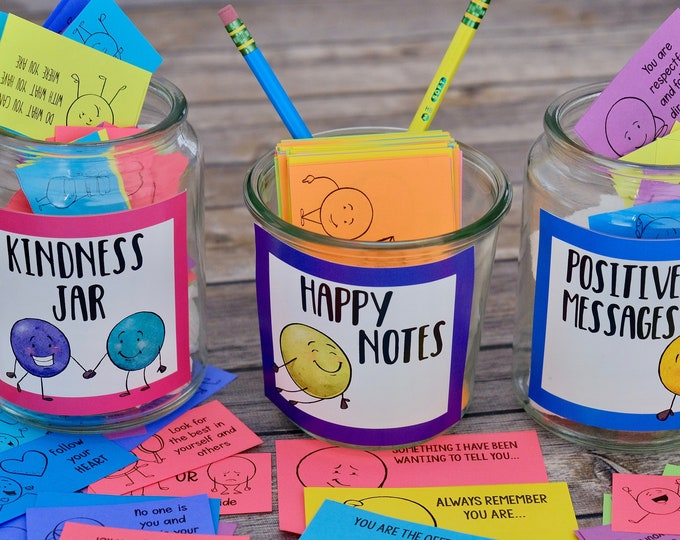 Featured listing image: Kindness Dots Notes and Cards 3 Set BUNDLE of Kindness