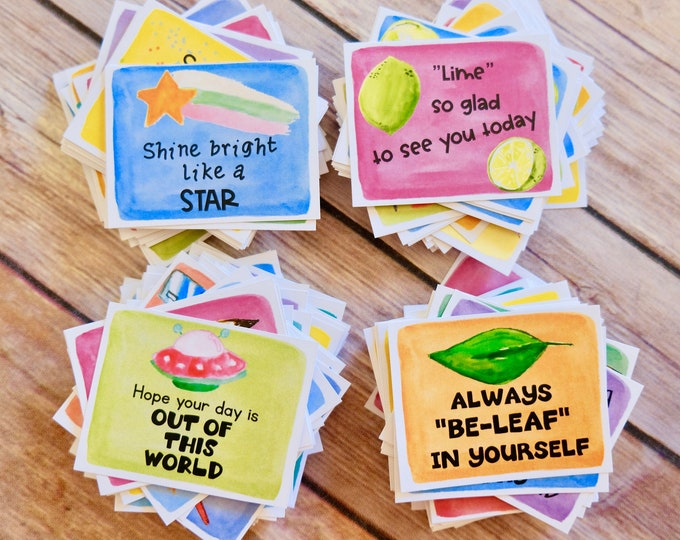 Featured listing image: Kindness Cards BUNDLE: 4 sets of Kindness Cards and Lunch Box Notes