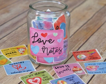 Printable Love Cards for Kids - Fun Love Notes, Message Cards and Write-In Note Cards- Lunch box notes