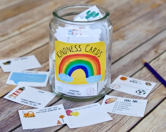 Kindness Notes Set 2 - Lunch Box Notes and Inspirational Notes for Spreading Kindness