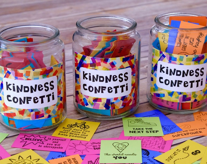 Featured listing image: Kindness Confetti® 3 Set Bundle: over 300 Inspirational Cards for Spreading Kindness