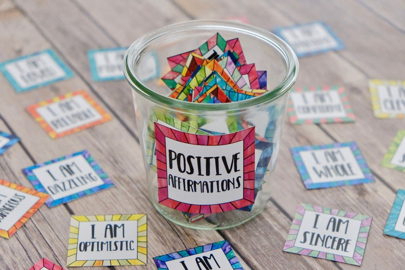 Affirmation Cards for Positive Thinking and Self Care  Coping image 0