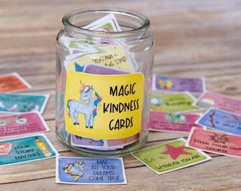 Kindness Cards Set 4: Make a Jar of Positivity with Inspirational Kindness Messages