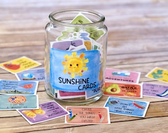 Kindness Cards Set 2: Inspirational Cards for lunch boxes, care packages, and anytime you want to share kindness, gratitude, and inspiration