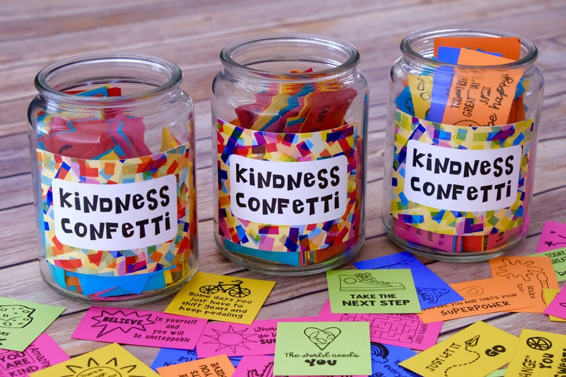Printable Kindness Confetti® 3 Set Bundle: over 300 image 0