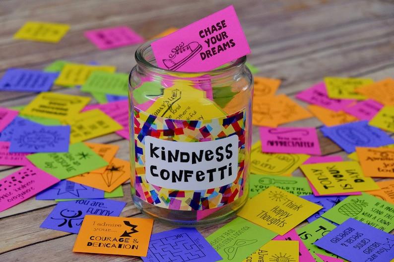 Kindness Confetti® Inspirational Cards Set 1  Kindness Cards image 0