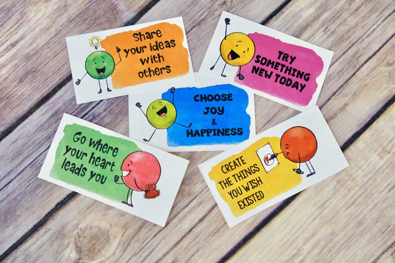 Kindness Dots Notes and Cards Lunch Box Notes and image 0