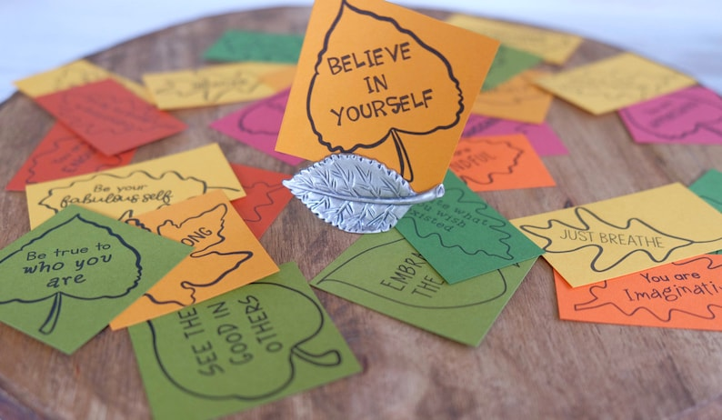 Kindness Leaves: Gratitude Positivity and Inspirational image 0
